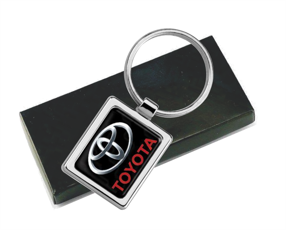 Chaveiro Inox Quadrado, Resina Cores PU ou Laser - CH.6362